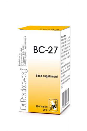Schuessler BC27 combination cell salt - tissue salt